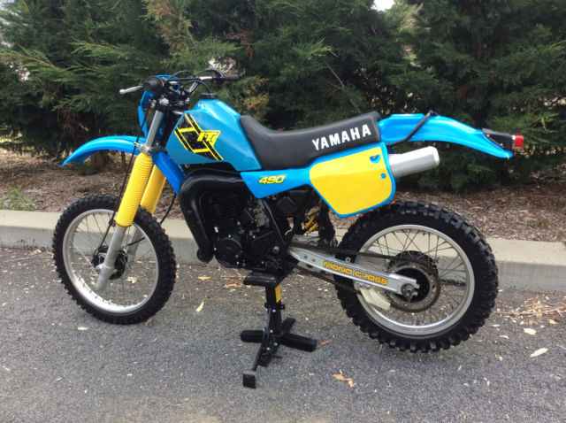 Yamaha IT490 1983 in nice condition NO RESERVE AUCTION Vinduro VMX Classic