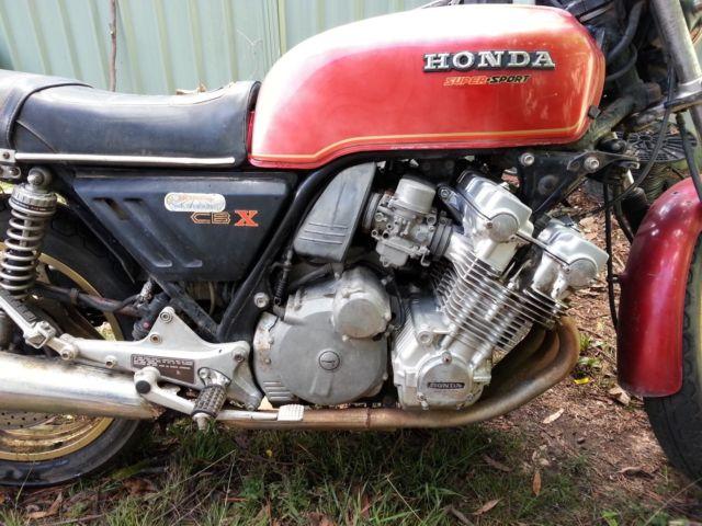 1978 Honda CBX1000 CBX1000z CBX 1000 CB1 Complete & ready for restoration!
