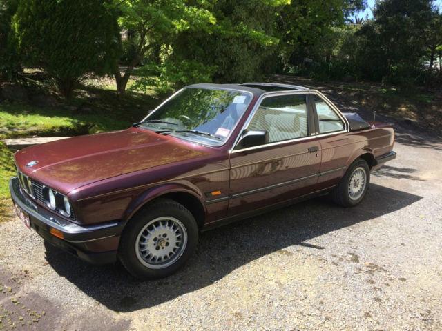 BMW E30 318i Baur Convertible 1985