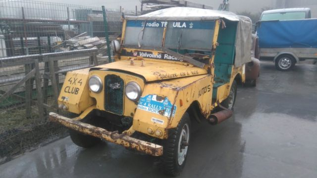 1953 Series 1 One 80 Military Land Rover Minerva Recovery Truck Barn Find