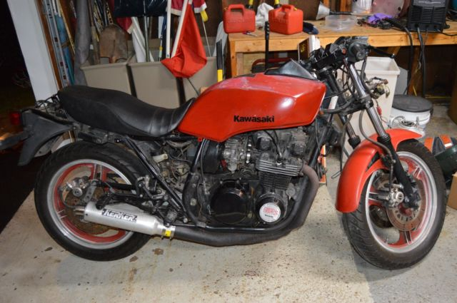 1983 Kawasaki GPZ 750 running condition with Clean Title