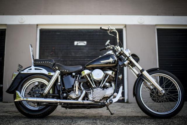 1950 PANHEAD Harley Davidson E Chopper Bobber All Harley Engine, Trans & Frame!