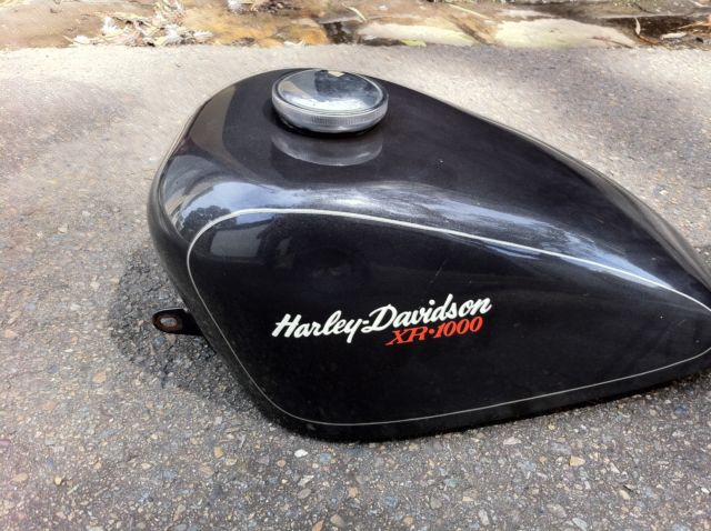 Harley Davidson Sportster Tank and Boat Tail Seats