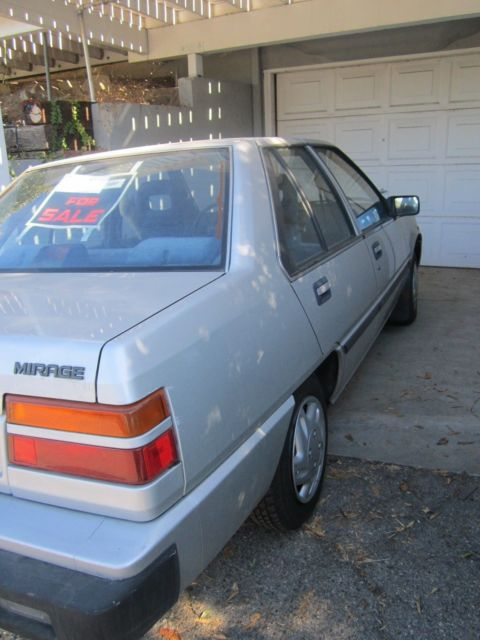 1988 MITSUBISHI,one Owner, 61,000miles