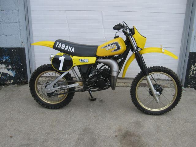 1981 Yamaha YZ 125