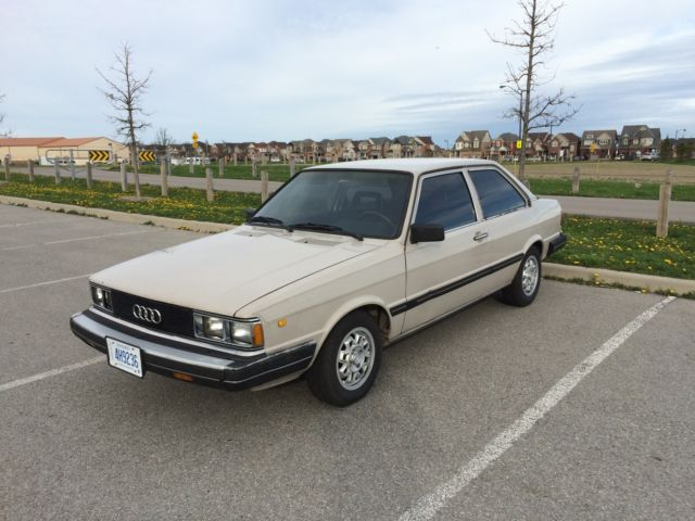 1982 Audi 4000S 4E 5-speed Base Sedan 2-Door 1.7L
