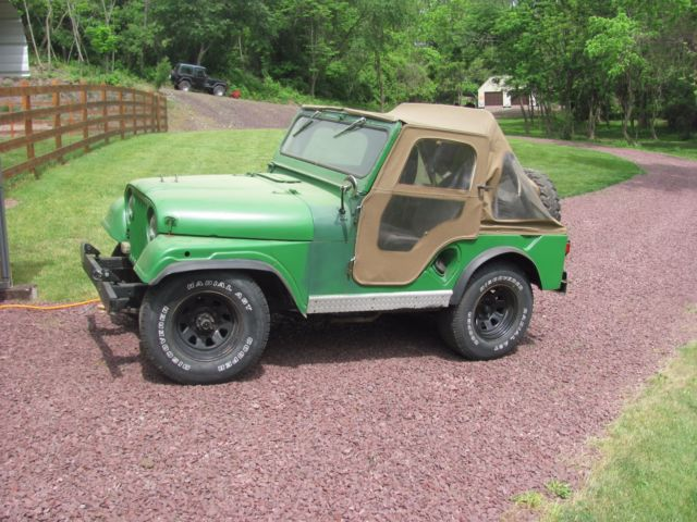 1962 Jeep CJ-3A willys overland