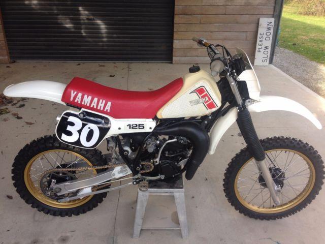 Yamaha YZ125J 1982