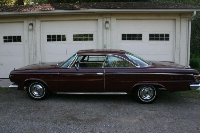1964 Dodge 880 Custom Hardtop Classic Collector Car all factory original parts