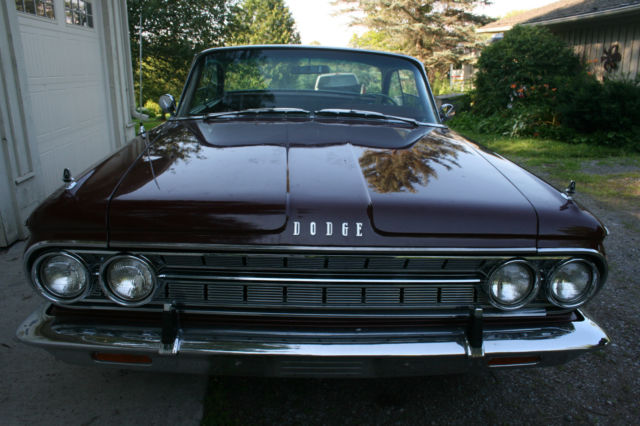 1964 Dodge 880 Custom Hardtop Classic Collector Car All