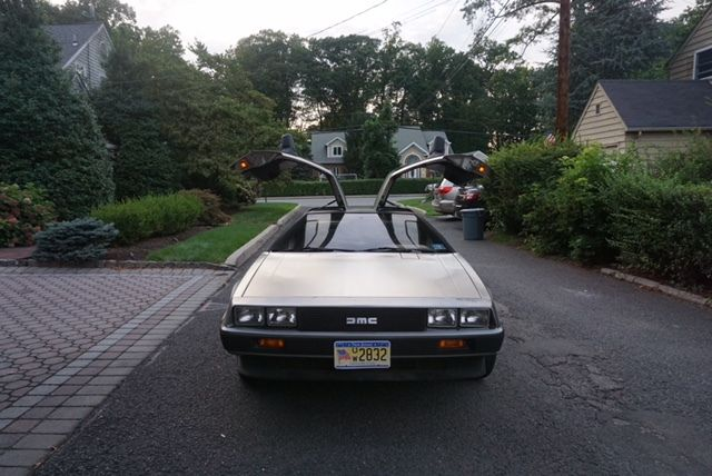 1981 DeLorean-Automatic, 2nd owner, 16 miles, new tires and battery