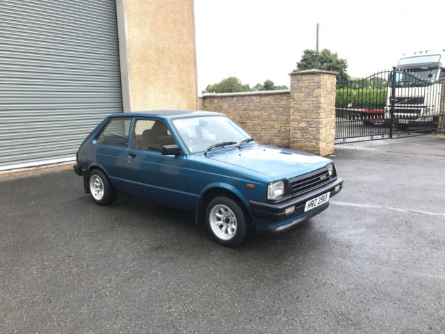 1983 Toyota Starlet KP60 RWD Blacktop 20V Engine and Twincam Gearbox LSD