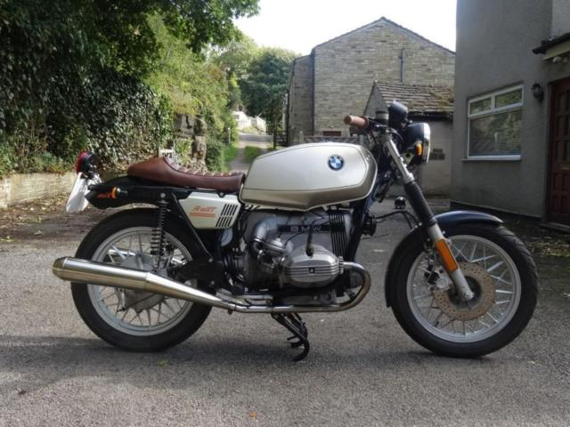1982 BMW R65  CAFE RACER