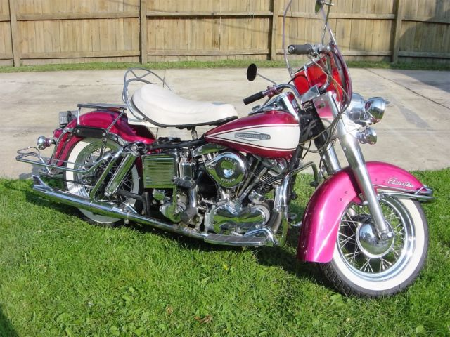 1967 Harley Davidson Electraglide FLH