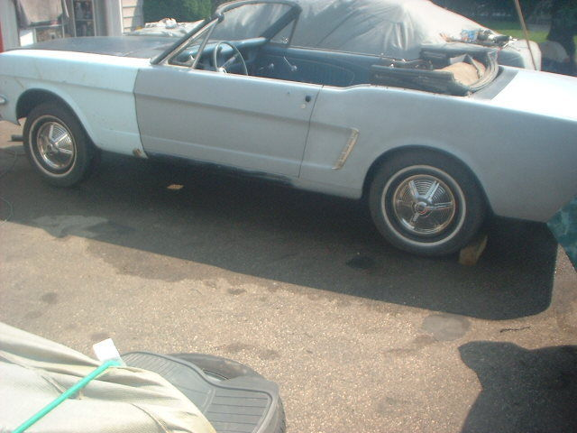 Rare and Complete 1964 1/2 D code Mustang convertible,