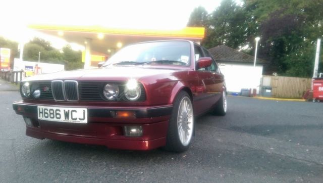 BMW E30 325i Manual Alpina Calypso Red Mtec Sport HLWW M3 M20
