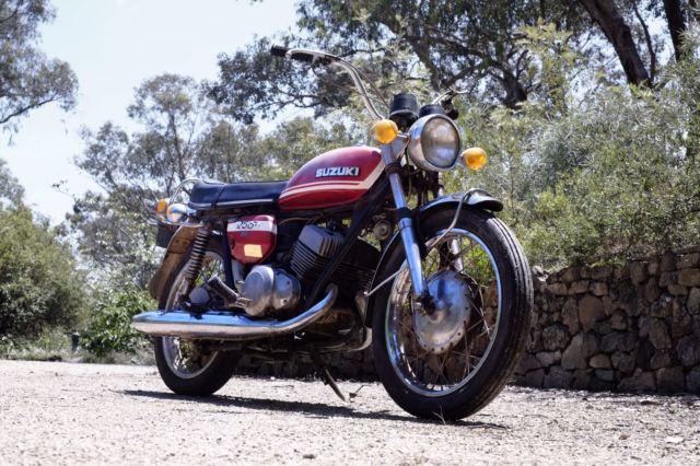 1972 Suzuki T 250 Hustler - Cafe Racer or project