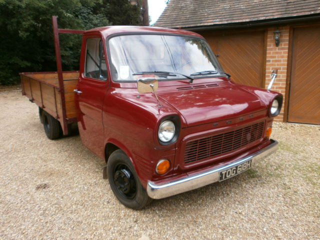FORD TRANSIT MK1 TWIN WHEEL PICKUP