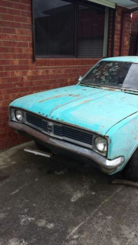 HT 1969 KINGSWOOD 186, 3 SPEED ,FRONT DICS BRAKES,