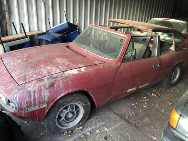 1970S TRIUMPH STAG BARN FIND RESTORATION PROJECT LK RARE CAR 99P