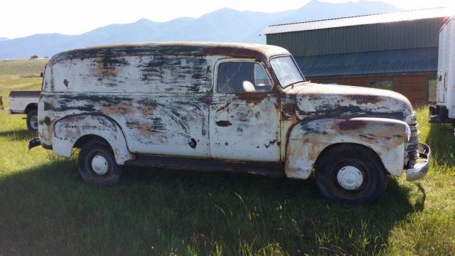 1950 chevrolet other panel truck for sale eureka montana united states. Black Bedroom Furniture Sets. Home Design Ideas