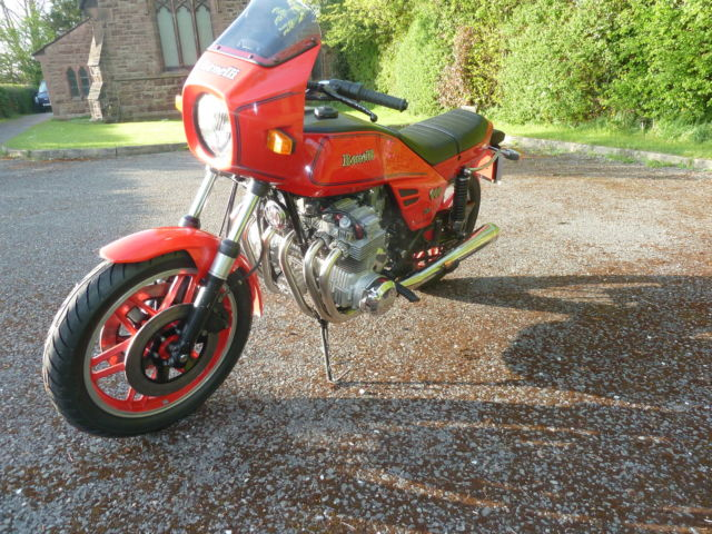 Benelli 900 Sei - Classic Collectible 6 Cylinder Sports Tourer