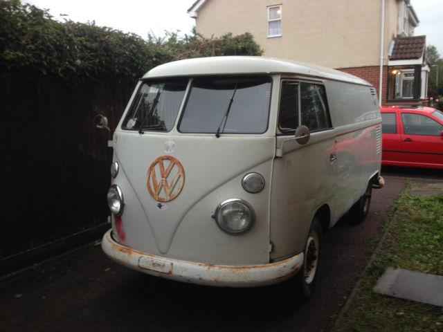 1963 VW Split Panel Van Original Paint Barn Find