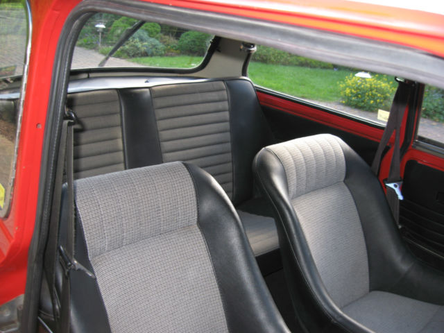 1975 INNOCENTI MINI COOPER S  RED, Built Seneffe 1973, one owner 26 years