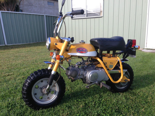 Registered, Original 1972 Honda Z50a Monkey Bike NO RESERVE !