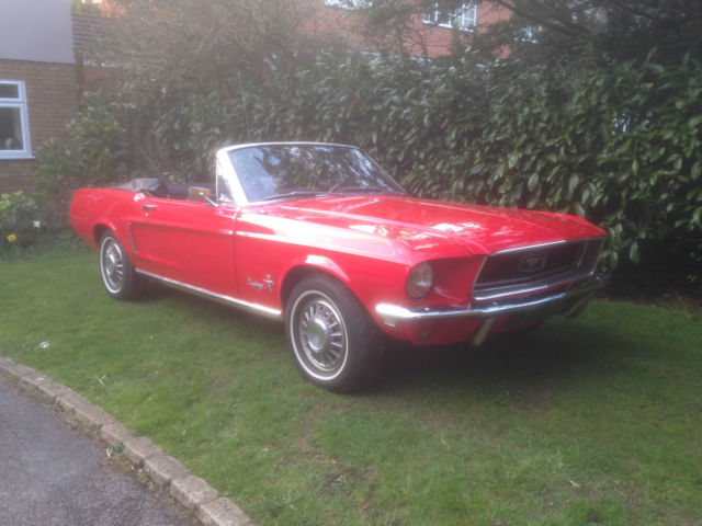 Ford Mustang Convertible '68'