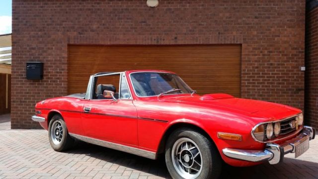 TRIUMPH STAG 1973,  AUTOMATIC WITH V8 ROVER ENGINE, LOVELY CLASSIC TRIUMPH