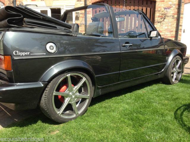 VOLKSWAGEN GOLF CABRIOLET GL AUTO 1985 B REG 112,000 MILES STUNNING SOFT TOP