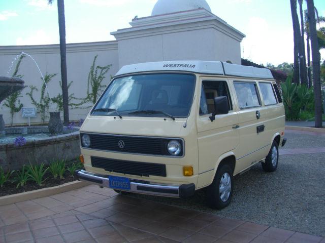1985 Volkswagen Bus/Vanagon Westfalia
