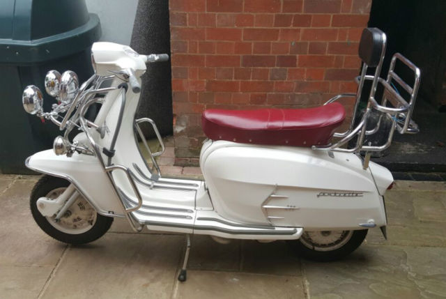 Original 1966 Lambretta SX 200 Special Motorcycle Immaculate Itallian Scooter