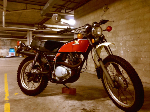 1976 Honda XL250 - All Original, Rego Until August