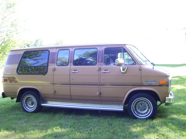 1989 chevrolet g20 van for sale marshall michigan united. Black Bedroom Furniture Sets. Home Design Ideas