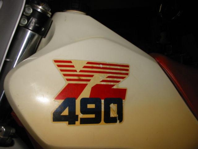 19860000 Yamaha YZ