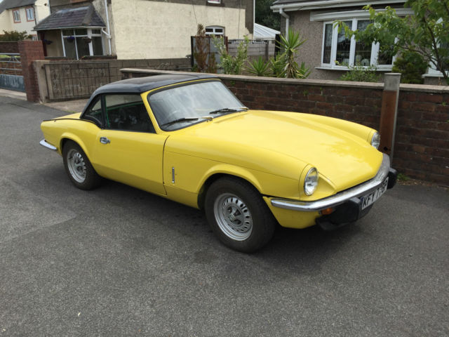 Triumph Spitfire 1500 , 1976 year unfinish project only 44k miles