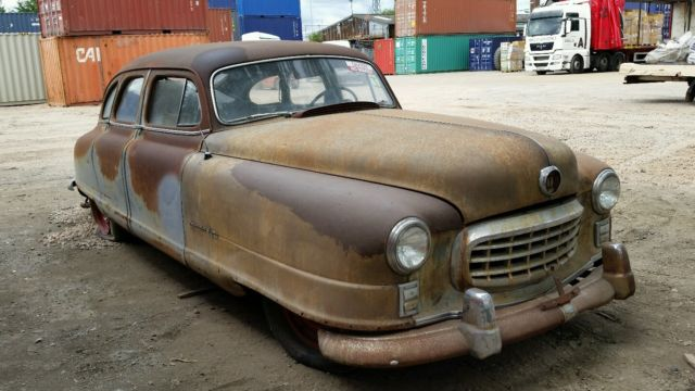 1950 Nash Airflyte 4 door just in tax paid with title great hot rod rat rod pro