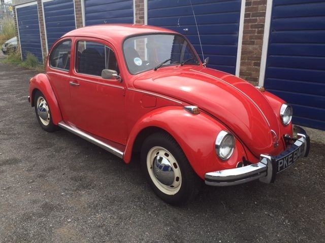 1973 VOLKSWAGEN BEETLE RED