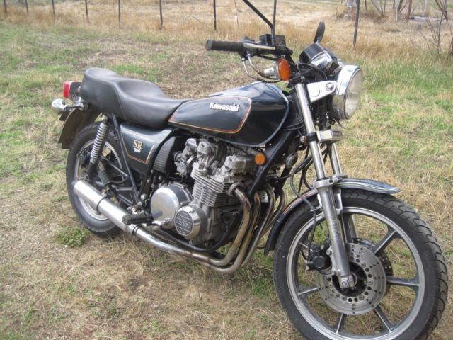 Kawasaki Z650SR Motorbike, 1981 model