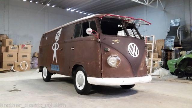 Rare Volkaswagen T1 Panel Van Original Patina, LHD, Made in Germany, USA Import