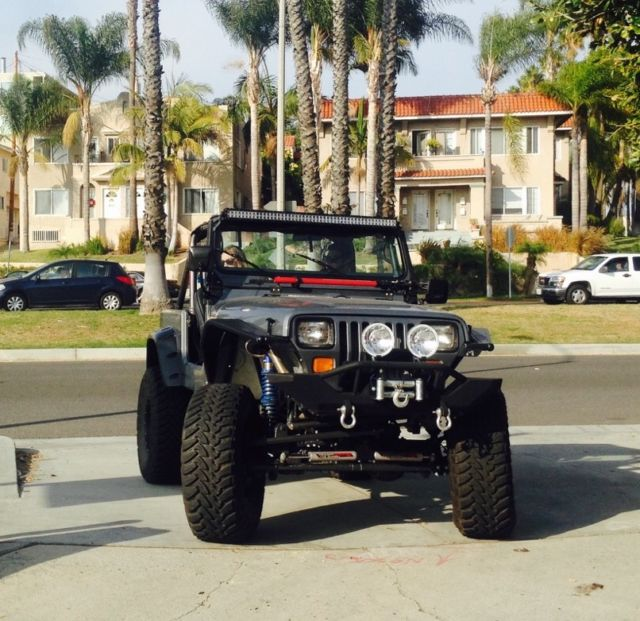 v8, coilovers, 4x4, rock crawler, custom jeep For Sale Long