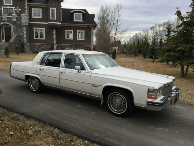 cadillac fleetwood fleetwood brougham d 39 elegance for sale calgary. Cars Review. Best American Auto & Cars Review