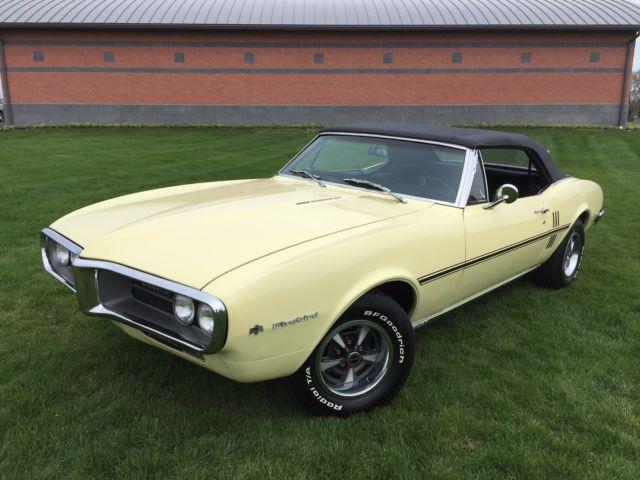 1967 Pontiac Firebird Sprint 3.8L