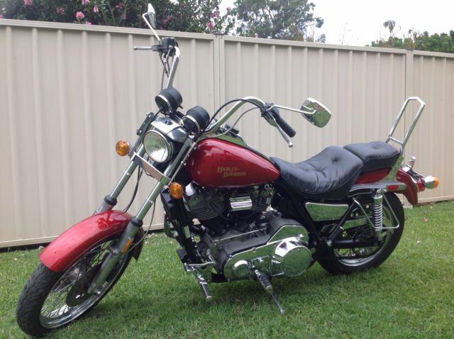 Harley Davidson Super Glide Shovelhead FXR 1982 14227