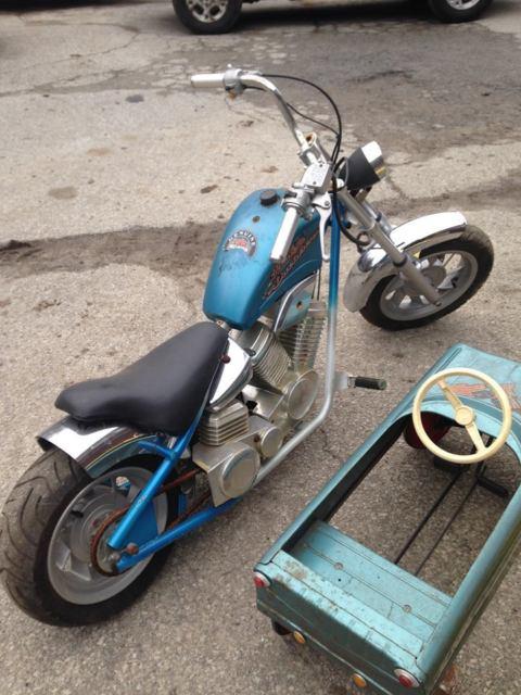 Harley Davidson Mini Bike Kids Bike Original Condition