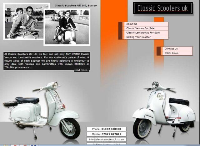 1962 Vespa GS160 Mk1 - UK Restoration - Authentic Classic