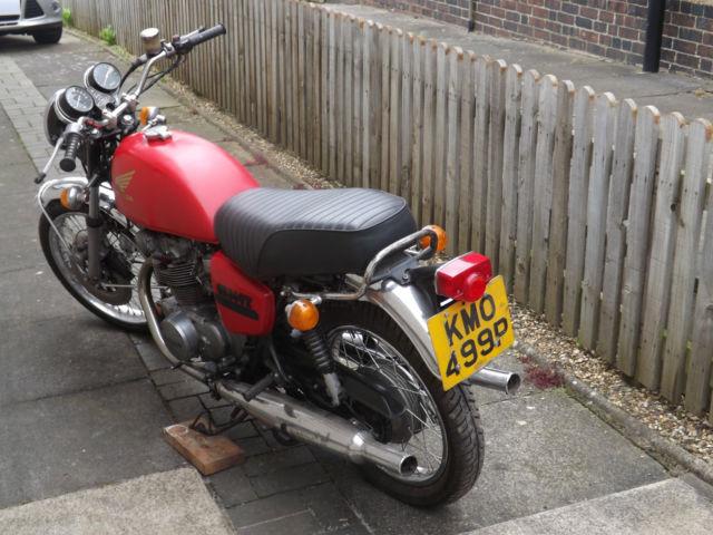 Honda CB500T 1975