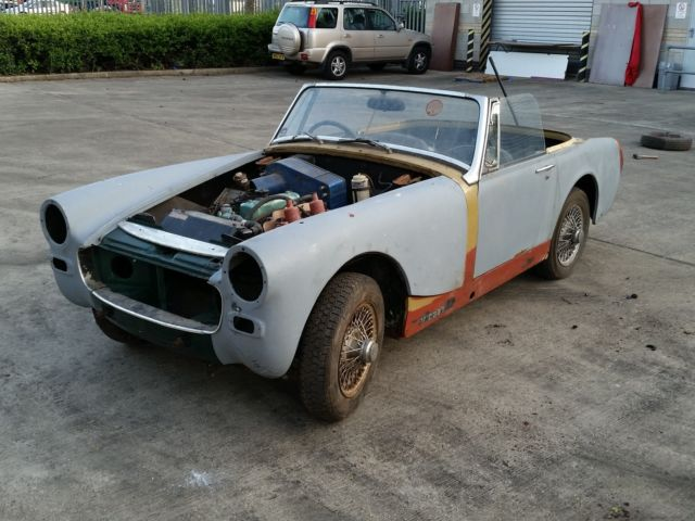 Mg Midget - for renovation - Holy Grail car - Low mileage - 2 owner